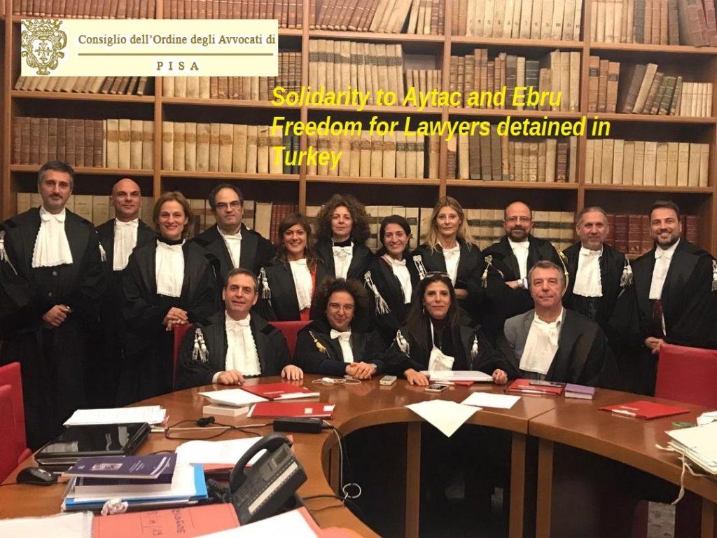 per la liberazione degli Avvocati Turchi esclusi dall'amnistia - Covid 19